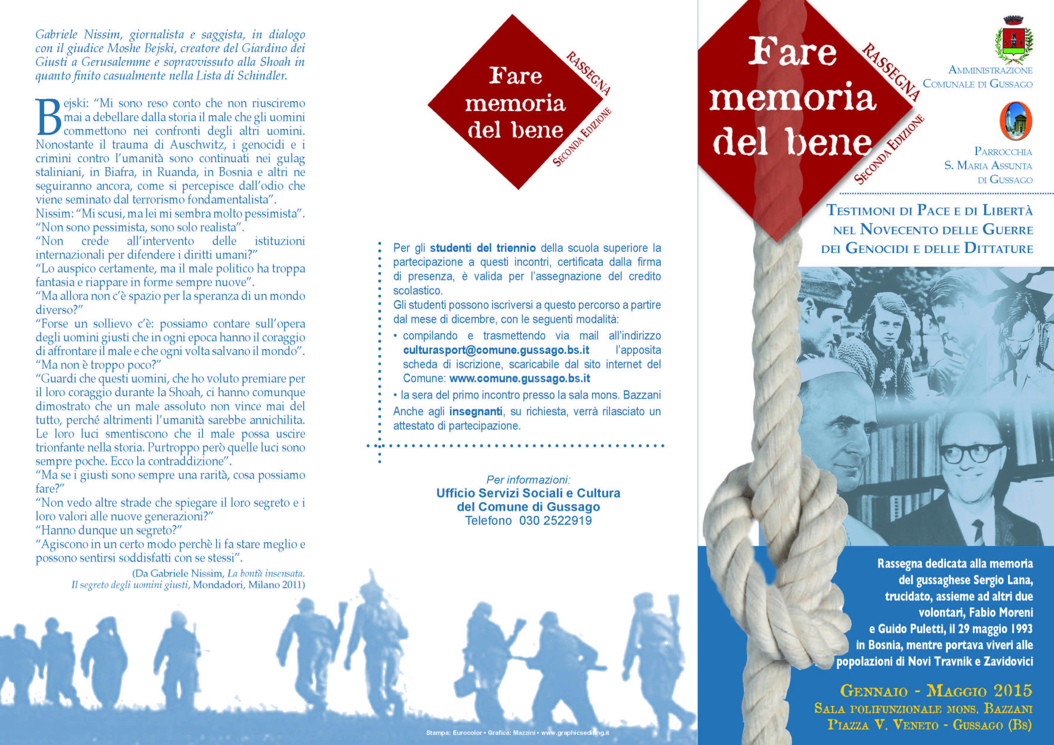 Brescia 28 maggio 1974 associazione casa della memoria for Pdf del programma della casa